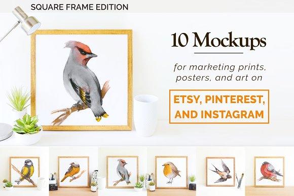 Etsy Instagram Print Mockup