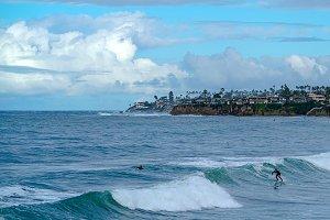 SAN DIEGO CALIFORNIA SURFING