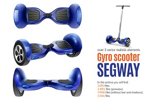 Gyro Scooter and Segway Set