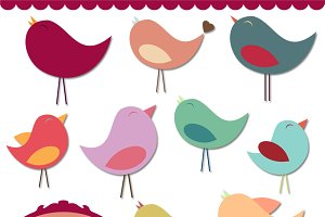 Bird Vectors and Clipart