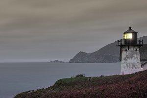 Point Montara Lighthouse at Dusk