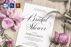 Bridal Shower Invitation Wpc306