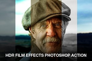 HDR Film effects action
