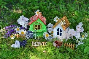 Lovely houses in grass2