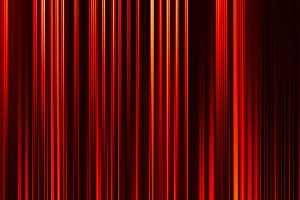 Vertical red curtains illustration background