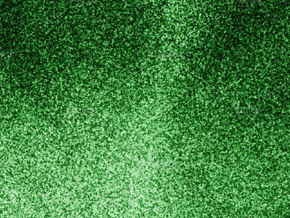 Green Noise Grain Texture Background