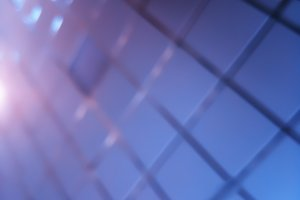 Diagonal grid bokeh background