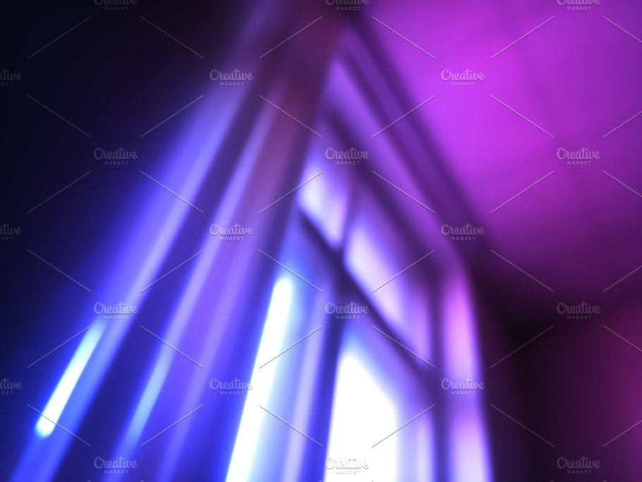 Diagonal Pink And Purple Windows Light Leak Bokeh Background