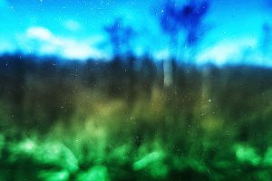 Dusty filmscan landscape texture background
