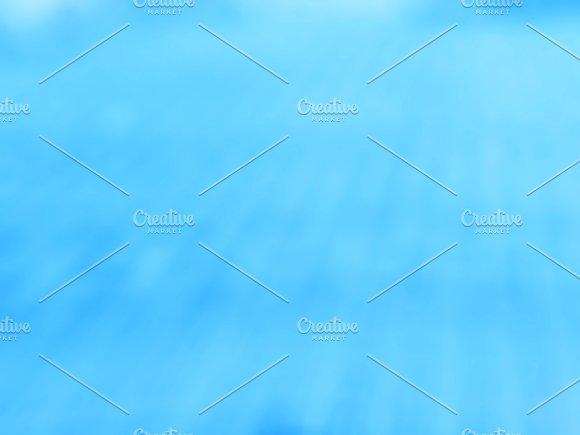 Diagonal Blue Bokeh Background