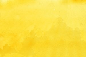 Horizontal yellow bokeh background