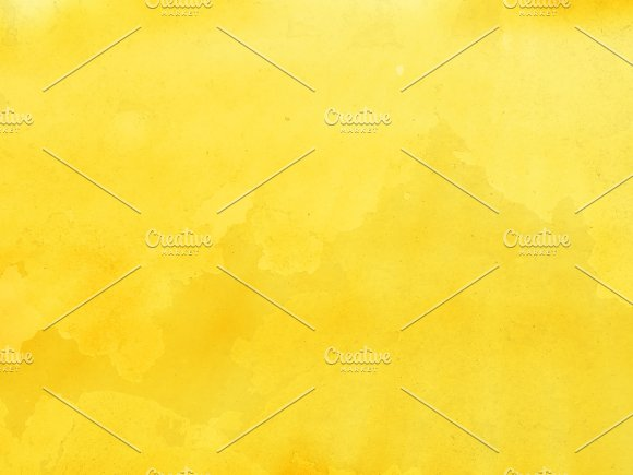 Horizontal Yellow Bokeh Background