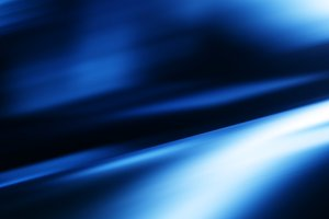 Diagonal blue motion blur bokeh background