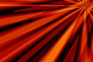 Diagonal orange sun rays motion blur background