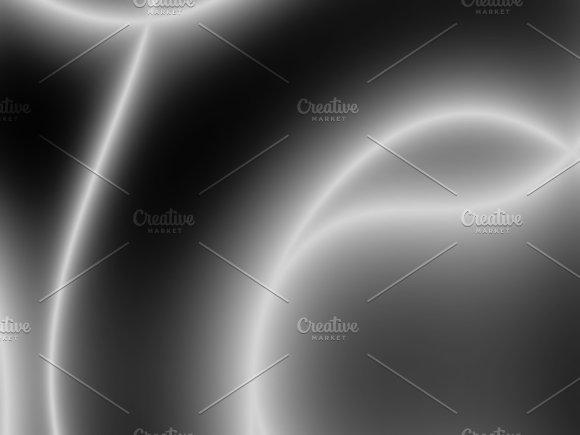 Diagonal Black And White Plasma Bokeh Background