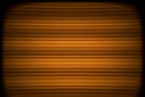 Horizontal orange tv scanlines illustration background