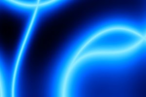 Diagonal blue plasma bokeh background
