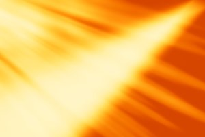 Diagonal orange ray motion blur background