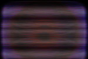 Curved interlaced tv screen illustration background