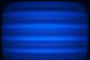 Horizontal blue tv scanlines illustration background