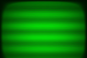 Horizontal green tv scanlines illustration background
