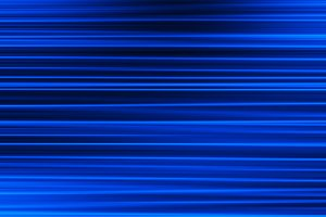 Horizontal blue motion blur bokeh background