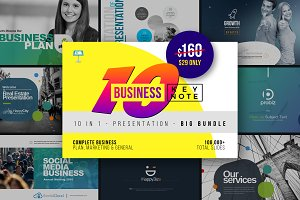 Business Keynote Templates Bundle