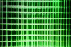 Green matrix blocks illustration background