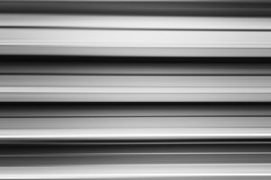 Black and white metal bars motion blur background