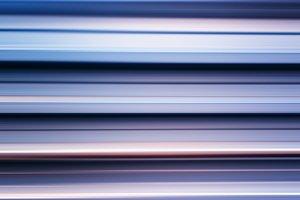 Cross processed metal bars motion blur background