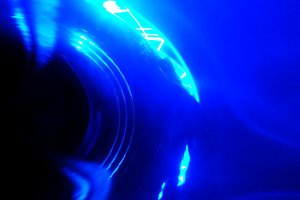 Blue abstrat motion blur background