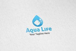 Aquarium - Logo Template