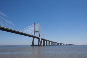 Vasco De Gama bridge Portugal