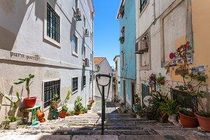 Streets of Lisbon Alfama