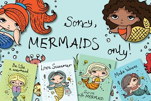Sorry, mermaids only!