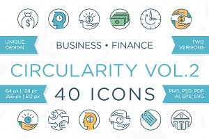Circularity Icons Volume 2