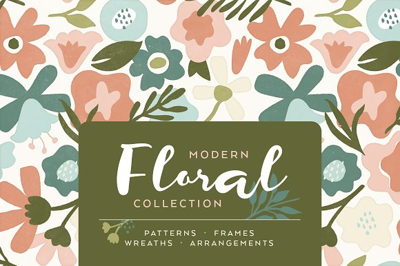 Modern Floral Collection