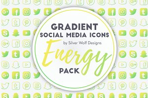 Social Media Icons | Energy Pack