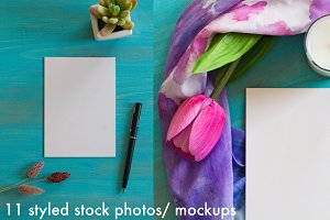 Styled Stock Photography/ Mockup pac