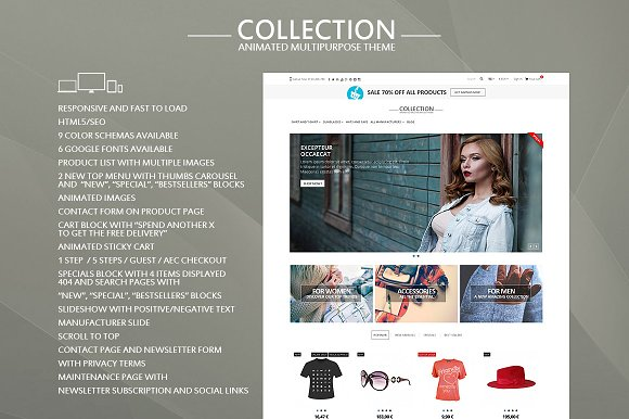 Collection For Prestashop