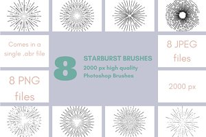 Starburst Photoshop Brushes