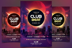 Club Beat - PSD Flyer Template