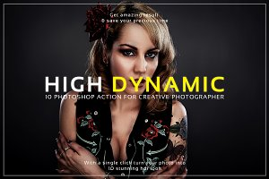 High Dynamic Photoshop Action