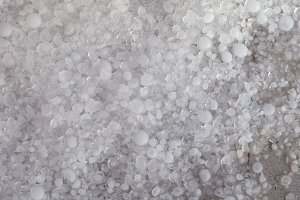 hail in stormy weather background