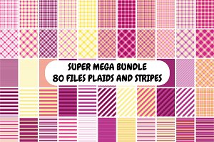 Plaids and Stripes Super Mega Bundle