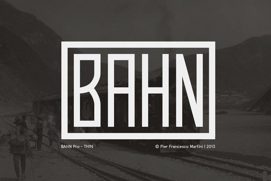 Bahn Pro Thin