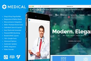 Medical Health Care WordPress Theme
