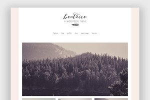 Beatrice Wordpress Theme