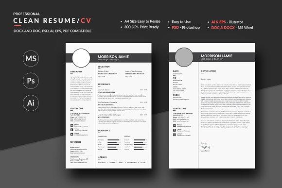 Pro Clean Resume