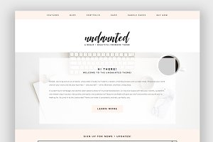Undaunted Wordpress Theme